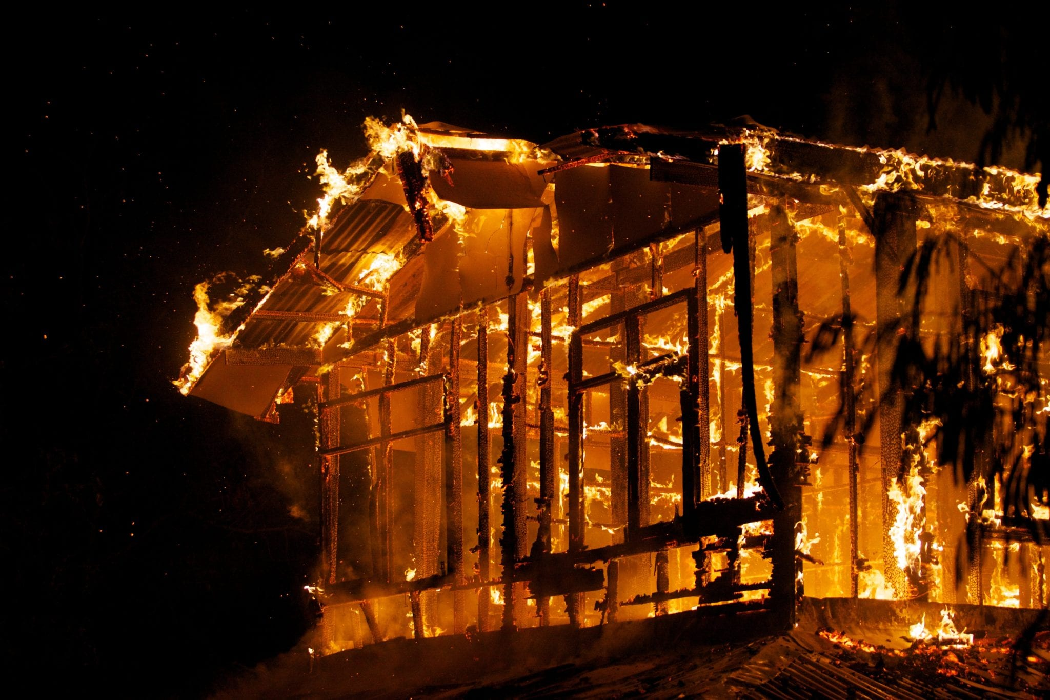 21452753 - house fire in the hot weather.